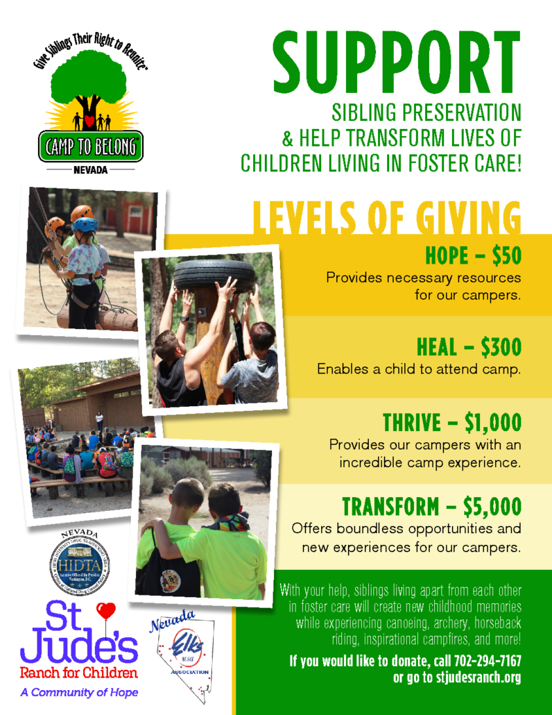 St  Jude's Ranch For Children, Nevada – Transforming the